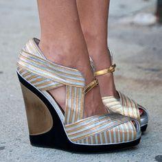 Yves Saint Laurent shoes.