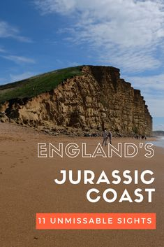The gorgeous Jurassic Coast in the south of England is one of the best areas to visit in the UK. In just a small area you'll find stunning beaches like Europe Destinations, Europe Travel Guide, Travel Guides, Travel Uk, Travel Deals, Paris Travel, Cornwall, Ireland Travel, Dorset Travel