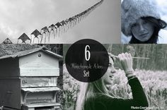 Amazing Monochromatic Photoshop Actions for Beautiful by ONESMFA, $3.00