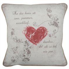 CUSHI   In Die Huis Cushion #pillow #cushion #homedecor Cushion Pillow, Cushions, Throw Pillows, Amazing, Home Decor, Toss Pillows, Toss Pillows, Decoration Home, Room Decor