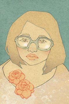 self portrait rose