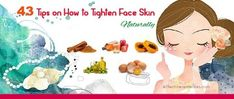Do you want to get rid of sagging facial skin? This article reveals 43 best ways how to tighten face skin naturally & fast at home.