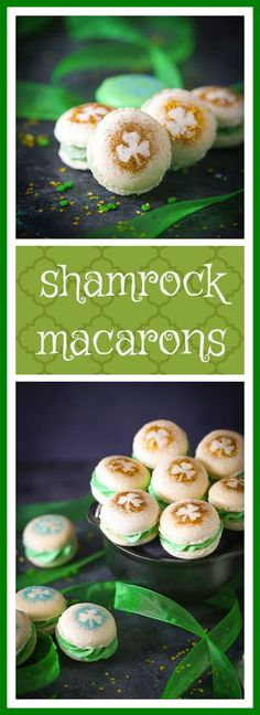 Impossibly cute, amazingly tasty...your favorite classic macarons filled with Bailey's buttercream. We're all Irish today!