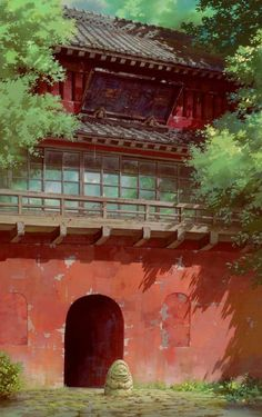 animation art: Spirited Away