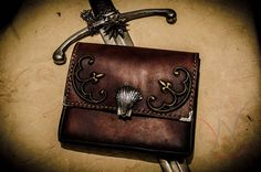 Witcher inspired pouch from Manticore set baldric