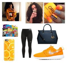"""""""Untitled #10"""" by rinarella ❤ liked on Polyvore featuring NIKE, Casetify and Michael Kors"""