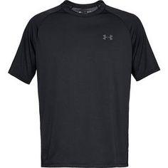 Under Armour Herren Ua Tech™ T-Shirt, kurzärmlig Schwarz Xxl Under Armour Black Tees, Black Shorts, Long Shorts, Summer Shorts, Under Armour Tanks, Under Armour Men, T Shirt Cut Out, Arizona Jeans, Old Navy