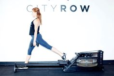 Feel your booty burn. http://www.thecoveteur.com/rowing-workout-cityrow/