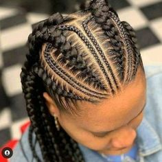 African Braids Hairstyles Pictures, African Braids Styles, Plaits Hairstyles, Natural Braided Hairstyles, Black Girl Braided Hairstyles, Protective Hairstyles, Goddess Braid Styles, Goddess Braids, Feed In Braid