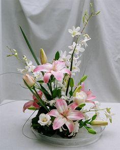 ikebana flower arrangement pictures | 15 Ideas For Beautiful Ikebana | Beauty Zone