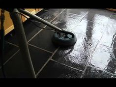 We cleaned and sealed this slate kitchen floor for a customer near Bury St. Slate Floor Kitchen, Kitchen Flooring, Slate Flooring, Floor Cleaning, House Ideas, Surface, Smooth, Polish, Youtube