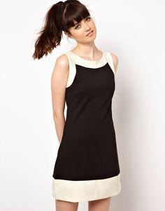 Pop Boutique Color Block Shift Dress