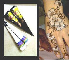 157 Best henna temporary tattoo images | Hennas, Mehndi, Tattoo kits