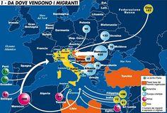 Sorpresa: in Italia più migranti via terra, dalla Romania e dall'Ucraina, dall'Asia e molti dalla Cina
