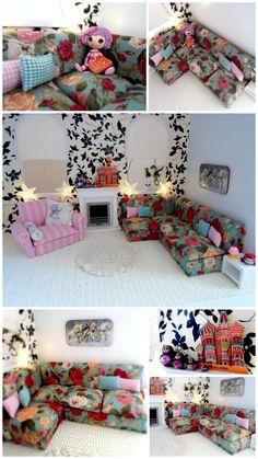 Dolls house Corner sofa tutorial