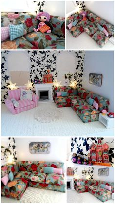 Dolls house Corner sofa tutorial