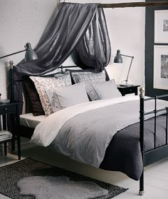 pair monotone textiles with an ikea svelvik bed frame for an elegant look and a relaxing - Bedroom Ideas Ikea