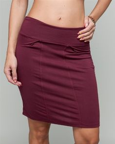 G2 Chic Chic Basic Solid Stretch Skirt $13.93