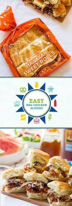 When it comes to recipes for outdoor entertaining this summer, you can never have too many delicious recipes to try! Before your next barbecue, grab everything you'll need to make these Easy BBQ Chicken Sliders—like Member's Mark hawaiian rolls, Member's Mark rotisserie chicken, and coleslaw mix—from Sam's Club to get started. Now all that's left is to pair it with Gold Peak® Tea and invite friends and family to enjoy the beautiful weather.