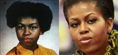 Has Michelle Obama had plastic surgery, such as a nose job? Take a look at these alleged before and after pictures and you be the judge!she always looks evil to me. Dark Spots On Skin, Celebrity Plastic Surgery, Lighten Skin, Michelle Obama, Skin Care Regimen, Beauty Routines, Clear Skin, Good Skin, How To Look Better