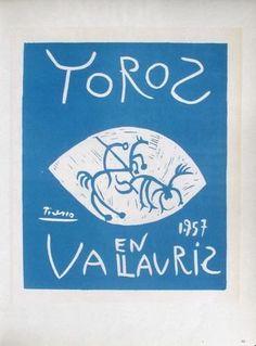 AF 1957 - Toros en Vallauris Sammlerdrucke von Pablo Picasso bei AllPosters.de