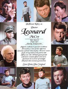 Dr Leonard McCoy Star Trek