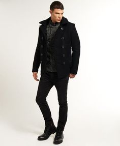 Superdry Bleecker Street Pea Coat