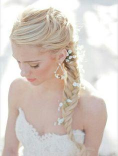 Amazing wedding hairstyle❤