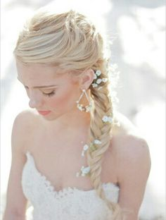 Amazing wedding hairstyle❤