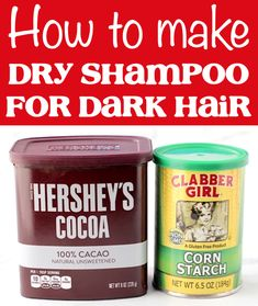 Dry Shampoo Hairstyles and How to Use Tips! DIY recipe for dark hair or blondes!  Have you tried this yet?? Homemade Beauty, Diy Beauty, Beauty Hacks, Beauty Stuff, Homemade Dry Shampoo, Diy Conditioner, Bun With Curls, Travel Hacks, Budget Travel