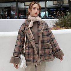 Korean Winter Outfits, Girl Style, My Style, Strawberry Dress, Winter Clothes, Korean Style, Winter Wardrobe, Fasion, Ulzzang
