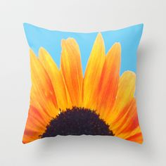 My Love Is A Flower Throw Pillow by Stacy Frett - $20.00