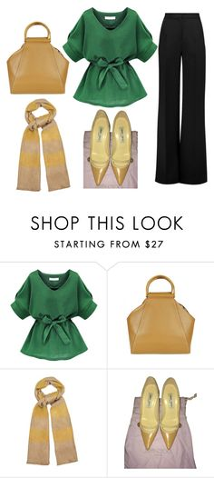 """""""Untitled #16"""" by sousou2578 on Polyvore featuring Tory Burch, Me & Kashmiere, Jimmy Choo and Roksanda"""