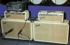 Brian Setzer's 1963 6G6-B Fender Bassman Amp Setup