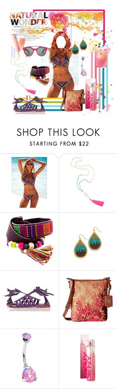 """NATURAL"" by aliceridler ❤ liked on Polyvore featuring NOVICA, NAKAMOL, Tommy Bahama, Givenchy, Summer, tropical and beach"