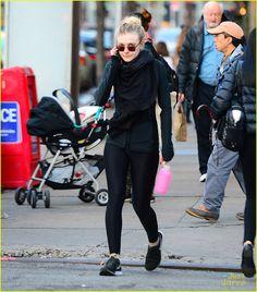 Dakota Fanning Is Not Feuding with Kristen Stewart!   dakota fanning soul cycle workout