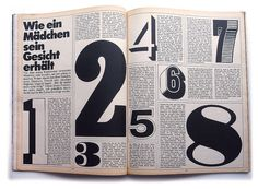 vintage spread design for Twen Magazine c. 1960/70s