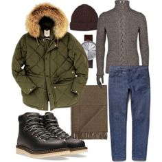 Cold day inspiration for a casual weekend