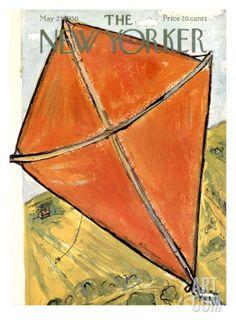 Art.fr - Regular Giclee Print 'The New Yorker Cover - May 27, 1950' par Abe Birnbaum