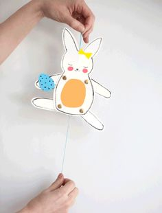 Jumping Jacks Easter Bunny Printable + Instructions