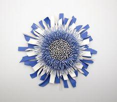Zemerpeled.com sculpture made from shards of ceramics