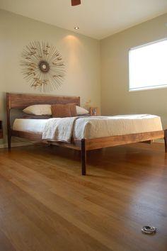 bed: mid century danish modern by FurniturebyPete
