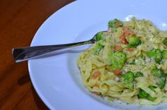 Broccoli fettucine