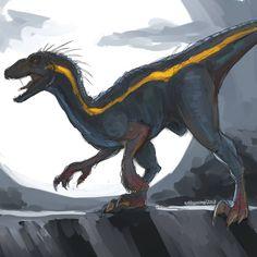 Jurassic Park Trilogy, Jurassic Movies, Jurassic World Dinosaurs, Jurassic Park World, All Mythical Creatures, Prehistoric Creatures, Fantasy Creatures, Dinosaur Drawing, Dinosaur Art
