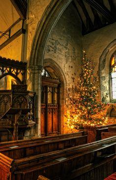Christmas Church,St Michael, HernHill,   Kent,England