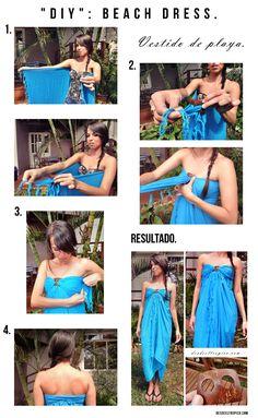DIY: Beach dress-sundress-