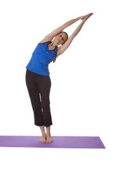Yoga for Slim Waist - Half Moon Yoga Pose