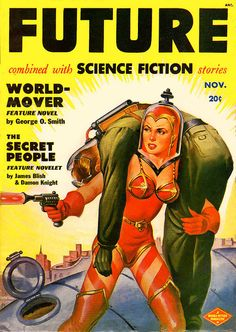 Future by Earle Bergey in 1951 | Flickr - Photo Sharing!