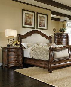 A.R.T Furniture\'s Old World Wood Bedroom Furniture Collection by ...