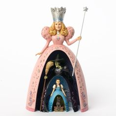 2013 Jim Shore Wizard of Oz, Spellbound - Glinda, Witch, Dorothy & Toto Nesting Figure; one of the many Wizard of Oz figurines that I need to add to my collection! Glinda The Good Witch, The Worst Witch, Wicked Witch, Disney Traditions, Land Of Oz, Broadway, Yellow Brick Road, My Collection, Wizard Of Oz